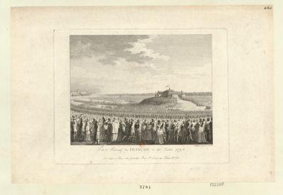 Pacte fédératif des Français le 14.e juillet <em>1790</em> [estampe]