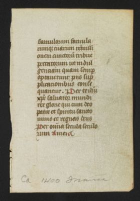 MISC1509 - Theodor Jung collection of medieval calligraphy
