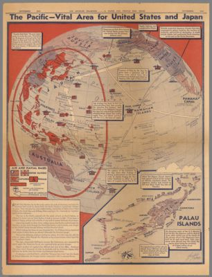 Follow the War with Hagstrom's Map of the World and Detailed Maps of