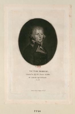 Victor Moreau général en chef des armées du Rhin né à Morlaix dép.t du Finistère en 1762 : [estampe]