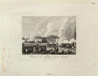 Publication des Kriegsgesetzes auf dem Marsfelde den <em>17</em> Jul. <em>1791</em> : [estampe]