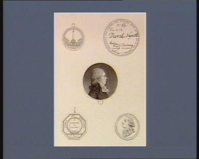 Médailles, cartes et portraits provenant de Ch. les Duval [impression photomécanique]