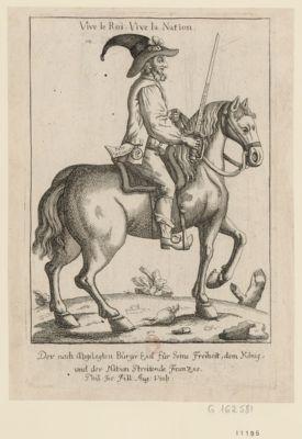 Vive le Roi vive la nation der nach Abgelegten Bürger eid für seine Freiheit dem König und der Nation Streitende Franzos. : [estampe]