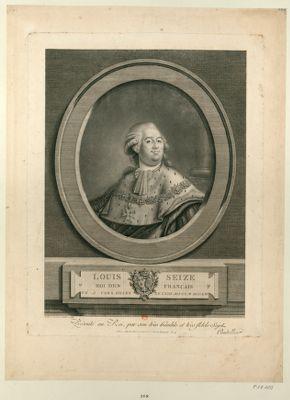 Louis Seize Roi des Français né à Versailles le XXIII aoust M.DCC.LIV. : [estampe]