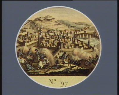 N.o 97 27 novembre 1792. Prise de Liege par le g.al Dumourier... : [estampe]