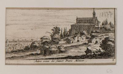 Altra veduta della chiesa di S. Pietro in Montorio