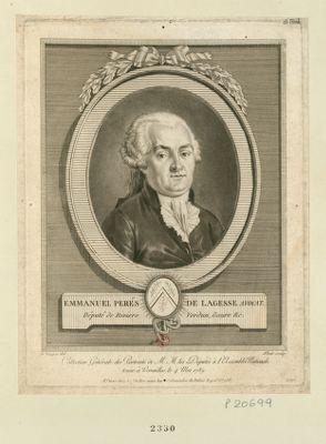 Emmanuel Perés de Lagesse avocat Député de Riviere Verdun, Gaure &c. : [estampe]