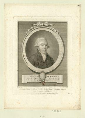 Bidault de Poligny deputé d'Aval en Franche-Comté, né en 1747 : [estampe]