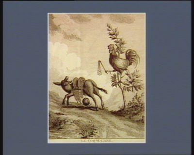 Le  Coq-a-l'ane ou la chasse au zeros de Kehll allez jeune présomptueux, achever votre apprentissage : [estampe]