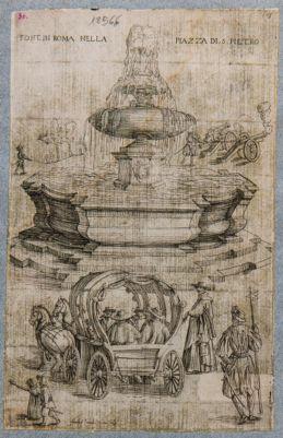 Piazza S. Pietro, fontana