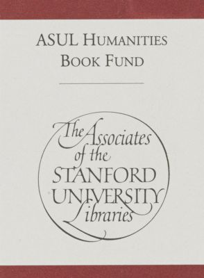 Associates of the Stanford University Libraries Humanities Book Fund