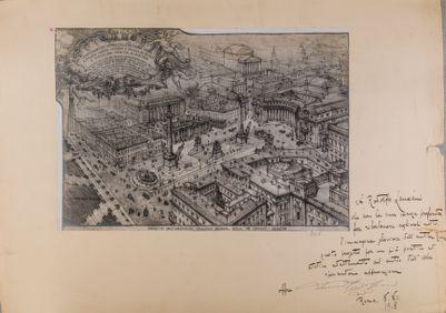 Piazza Colonna, progetto di ampliamento
