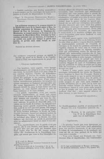 Tome 76 : Du 4 au 18 octobre 1793 - page 2