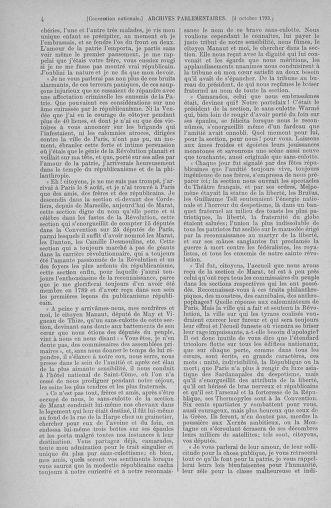Tome 76 : Du 4 au 18 octobre 1793 - page 4