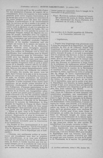 Tome 76 : Du 4 au 18 octobre 1793 - page 5