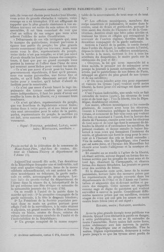 Tome 76 : Du 4 au 18 octobre 1793 - page 7