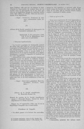 Tome 76 : Du 4 au 18 octobre 1793 - page 16