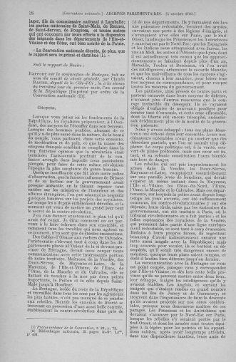 Tome 76 : Du 4 au 18 octobre 1793 - page 38