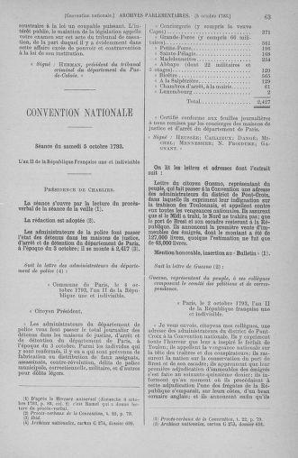 Tome 76 : Du 4 au 18 octobre 1793 - page 63