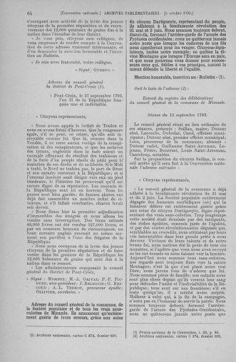 Tome 76 : Du 4 au 18 octobre 1793 - page 64
