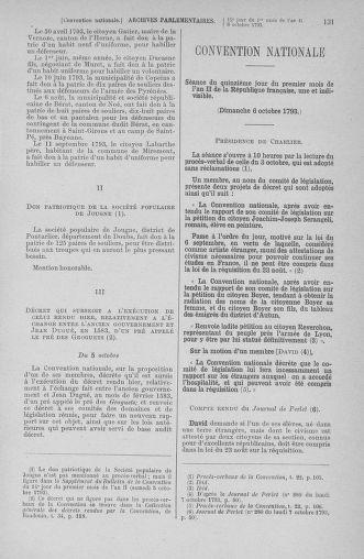 Tome 76 : Du 4 au 18 octobre 1793 - page 131