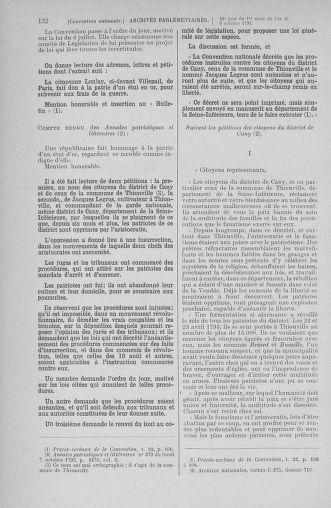 Tome 76 : Du 4 au 18 octobre 1793 - page 132