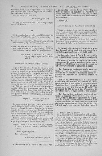 Tome 76 : Du 4 au 18 octobre 1793 - page 192