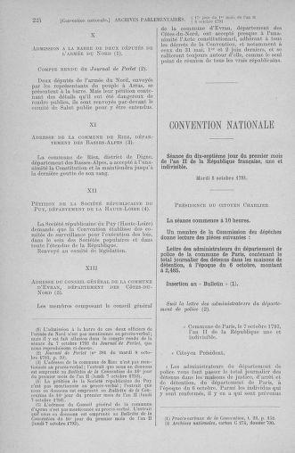 Tome 76 : Du 4 au 18 octobre 1793 - page 224