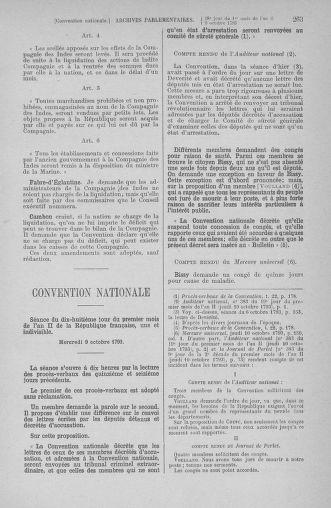Tome 76 : Du 4 au 18 octobre 1793 - page 263