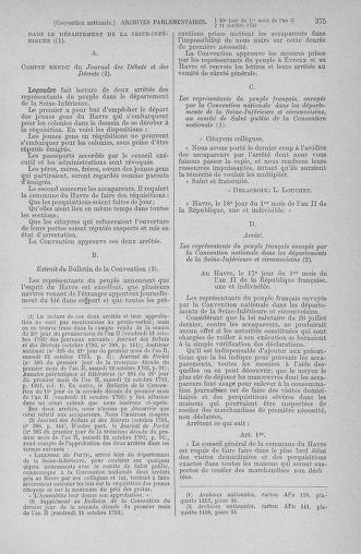 Tome 76 : Du 4 au 18 octobre 1793 - page 375
