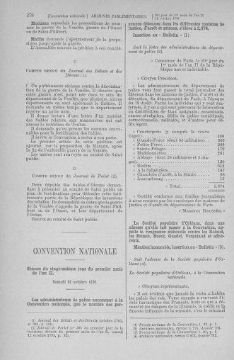 Tome 76 : Du 4 au 18 octobre 1793 - page 378