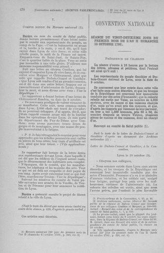 Tome 76 : Du 4 au 18 octobre 1793 - page 470