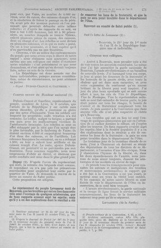 Tome 76 : Du 4 au 18 octobre 1793 - page 471