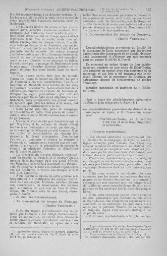 Tome 76 : Du 4 au 18 octobre 1793 - page 473
