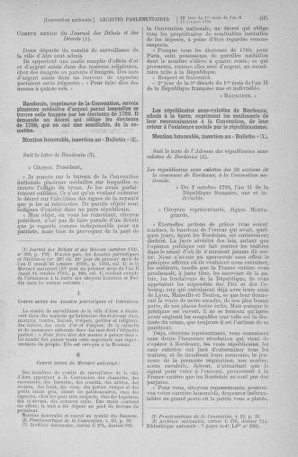 Tome 76 : Du 4 au 18 octobre 1793 - page 495