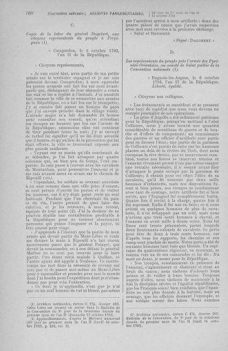 Tome 76 : Du 4 au 18 octobre 1793 - page 500
