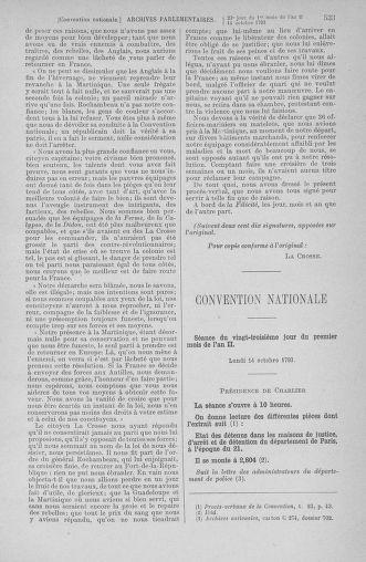 Tome 76 : Du 4 au 18 octobre 1793 - page 533