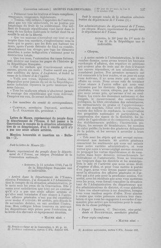 Tome 76 : Du 4 au 18 octobre 1793 - page 537
