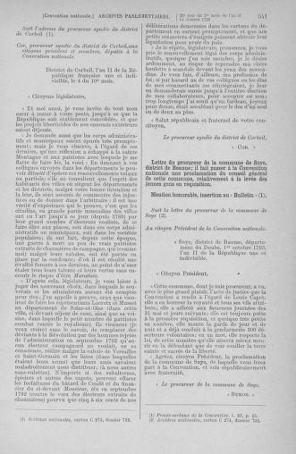 Tome 76 : Du 4 au 18 octobre 1793 - page 541