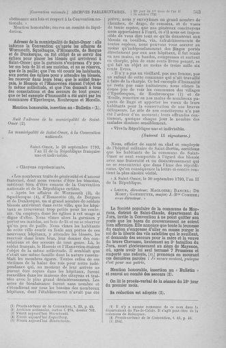 Tome 76 : Du 4 au 18 octobre 1793 - page 543
