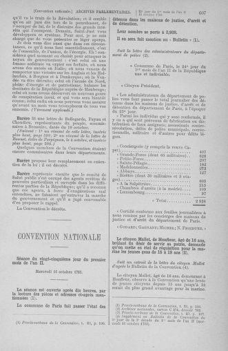 Tome 76 : Du 4 au 18 octobre 1793 - page 607
