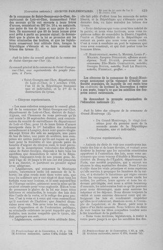 Tome 76 : Du 4 au 18 octobre 1793 - page 619