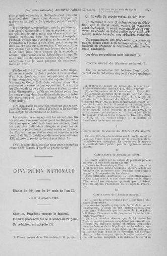 Tome 76 : Du 4 au 18 octobre 1793 - page 653