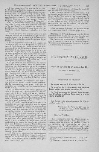 Tome 76 : Du 4 au 18 octobre 1793 - page 681