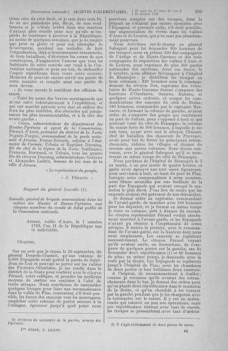 Tome 76 : Du 4 au 18 octobre 1793 - page 689