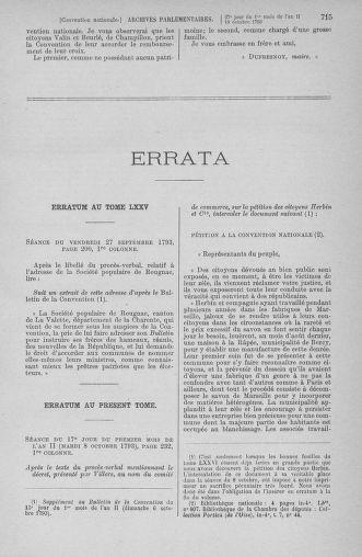 Tome 76 : Du 4 au 18 octobre 1793 - page 715