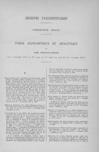 Tome 76 : Du 4 au 18 octobre 1793 - page ..