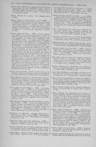 Tome 76 : Du 4 au 18 octobre 1793 - page 768