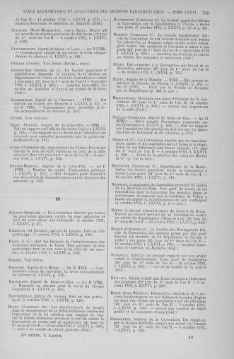 Tome 76 : Du 4 au 18 octobre 1793 - page 769