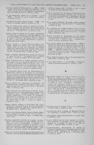 Tome 76 : Du 4 au 18 octobre 1793 - page 771